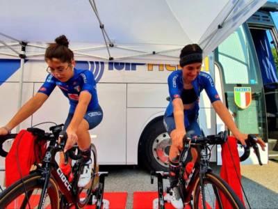 LIVE Ciclismo, Europei juniores donne in DIRETTA: vince Riedmann, battuta allo sprint Eleonora Ciabocco che è argento