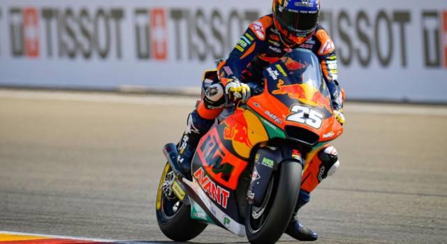 Moto2, risultato FP3 GP Aragon: R. Fernandez guida il gruppo, Di Giannantonio, Bezzecchi e Bulega entrano in Top14