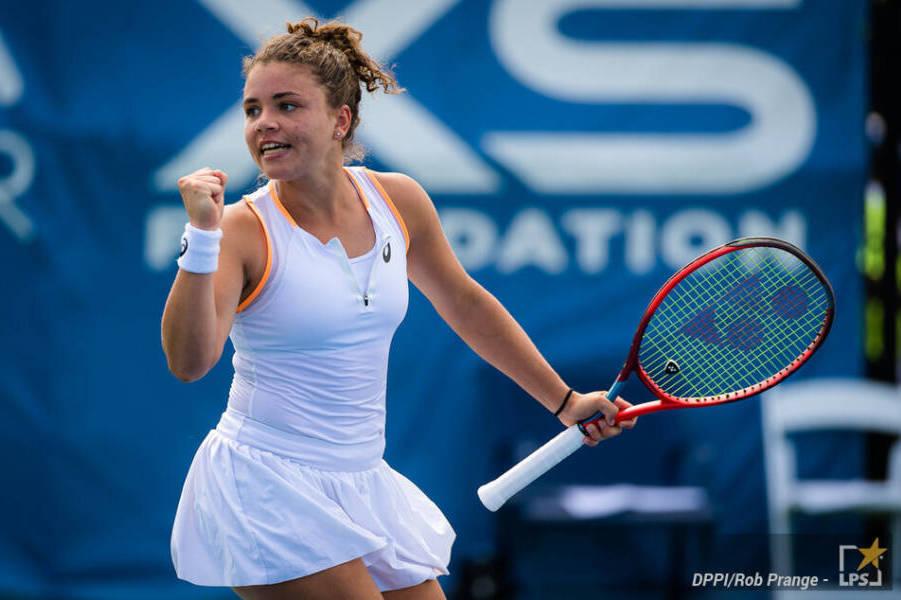WTA Courmayeur 2021, Jasmine Paolini vince il derby con Lucrezia Stefanini e va ai quarti!