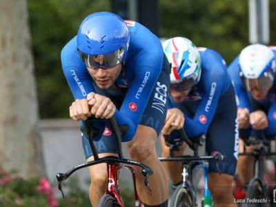 Ciclismo, l'Italia conquista il bronzo nel Team Relay dei Mondiali! Ganna e compagni sul podio per 5 centesimi!