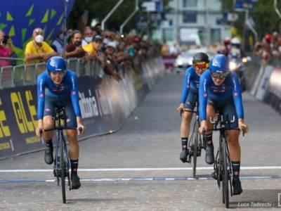 LIVE Ciclismo femminile, cronometro Elite Europei in DIRETTA: oro mostruoso per Reusser, ottava Bussi