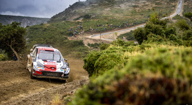 Rally Grecia, day-1: Ogier guida la tripletta Toyota