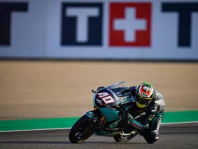 Moto3, qualifiche GP Aragon: Binder in pole davanti a Rodrigo e Suzuki, 5° crono per Migno