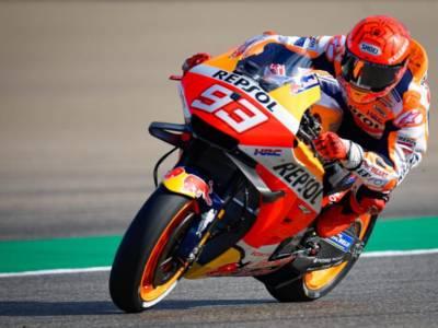 MotoGP, risultati e classifica FP1 GP Americhe: Marquez primeggia sul bagnato. Bagnaia 8°, Valentino Rossi 20°