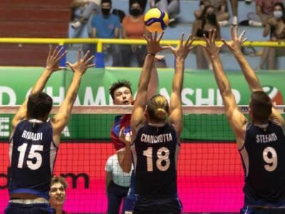 Volley, Mondiali Under 21: Italia scatenata a Cagliari, 3-0 all'Argentina. Stefani e Rinaldi sugli scudi, Michieletto assente