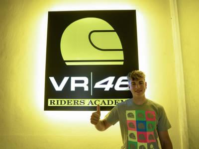Moto3, Alberto Surra entra ufficialmente nella VR46 Riders Academy