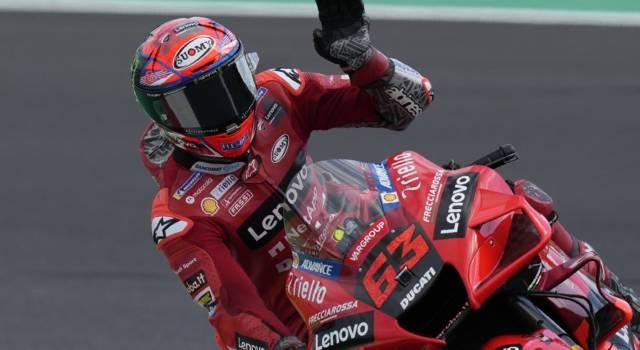 MotoGP, capolavoro di Francesco Bagnaia a Misano! Battuto Quartararo, primo podio per Bastianini!