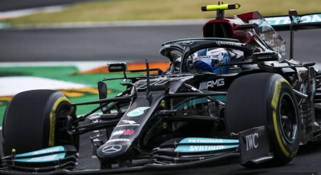 "F1, Valtteri Bottas: ""Felice per questo giro, punto a vincere la Sprint Qualifying a Monza"""