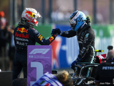 F1, Max Verstappen in pole position a Monza. Bottas vince la sprint race, ma partirà ultimo