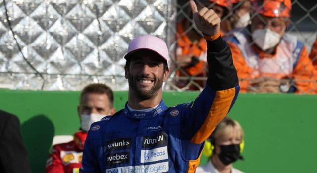 """F1, Daniel Ricciardo: """"Avevo grandi sensazioni, una doppietta McLaren è incredibile"""""""