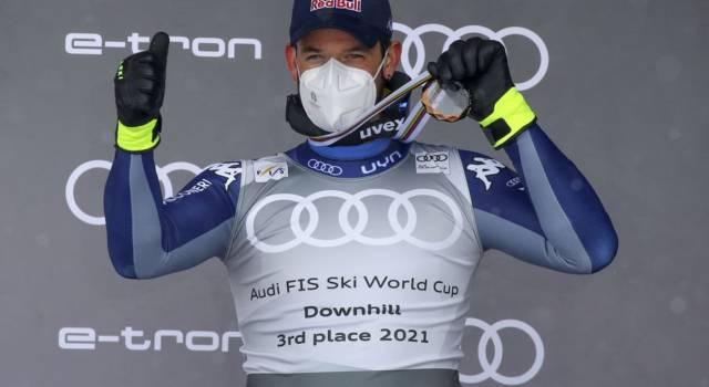 Sci alpino, Dominik Paris ed i velocisti azzurri proseguono la preparazione a Saas-Fee