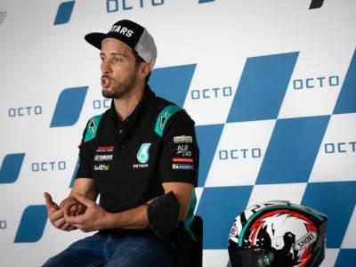 """MotoGP, Andrea Dovizioso sull'Aprilia: """"Pensavo fosse una moto competitiva, ma oggi non basta"""""""