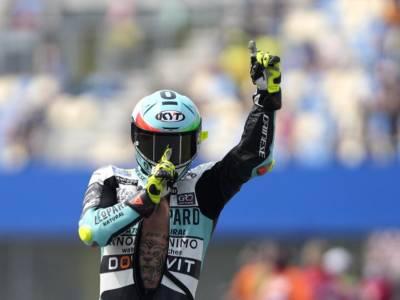 Moto3, GP Misano: gli highlights della gara. Tripletta italiana, trionfa Dennis Foggia