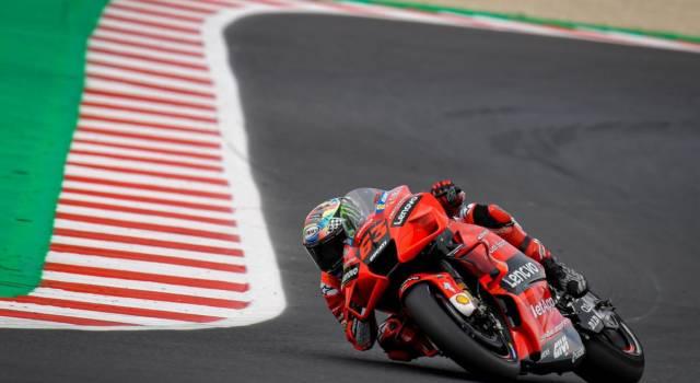 MotoGP, Day-1 Test Misano 2021: tanto lavoro in ottica 2022 e Francesco Bagnaia davanti a tutti, Valentino Rossi 11°