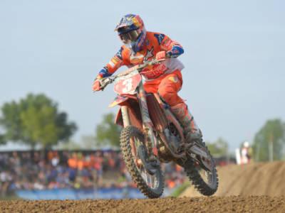 Motocross MXGP, Jeffrey Herlings vince gara-2 ed è in testa al Mondiale, 4° Tony Cairoli