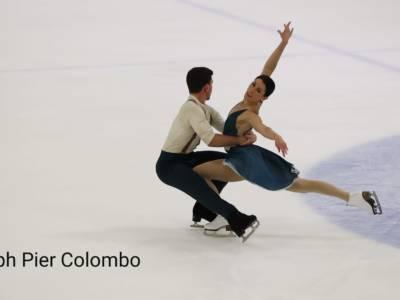 Pattinaggio di figura: Guignard-Fabbri trionfano nella danza al Lombardia Trophy 2021