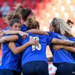 Calcio femminile, tris dell'Italia contro la Moldova nelle qualificazioni ai Mondiali 2023 a Trieste