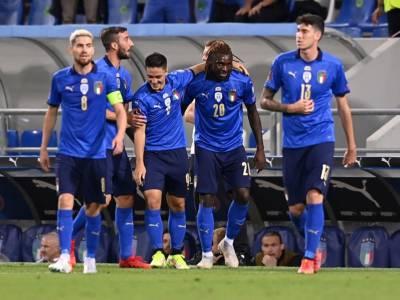 VIDEO Calcio, Qualificazioni Mondiali 2022: Italia-Lituania 5-0. Goleada degli azzurri a Reggio Emilia