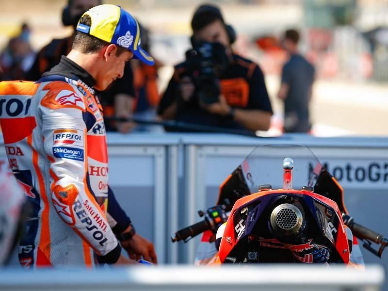 MotoGP, ancora guai per Marc Marquez: si teme sindrome compartimentale al braccio sinistro