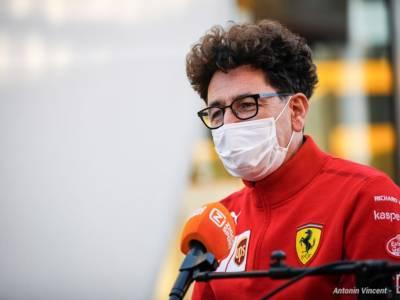 """F1, Mattia Binotto: """"La Ferrari pensa al 2022, ma vogliamo arrivare terzi quest'anno"""""""