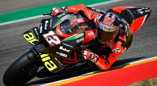 MotoGP, Maverick Vinales guida le FP1 a Misano con l'Aprilia! Rientrano Morbidelli e Dovizioso, 19° Valentino Rossi