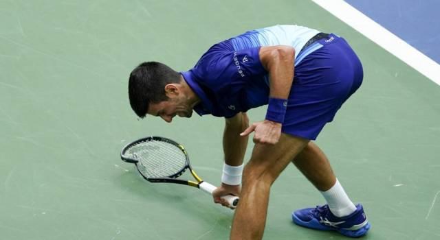 """US Open, Novak Djokovic: """"Non ero al mio livello solito. Vincere uno Slam sarà sempre più difficile"""""""