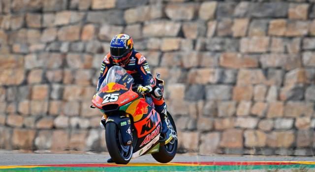 Moto2, GP San Marino 2012: Raul Fernandez detta il ritmo in FP3, Bezzecchi 7° davanti a Manzi