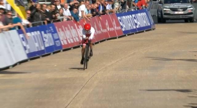 Ciclismo, Mondiali 2021: Alena Ivanchenko trionfa nella cronometro junior femminile. Lontane Cipressi e Barale