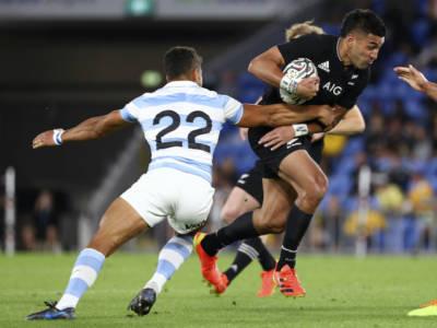 Rugby Championship: gli All Blacks non si fermano e battono di nuovo l'Argentina