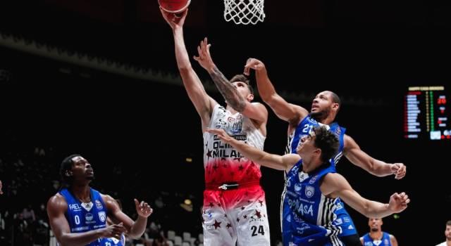 Basket, Supercoppa Italiana 2021: Milano è la prima finalista. L'Olimpia supera di misura una Brindisi mai doma