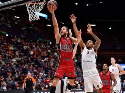 Basket, Eurolega 2021-2022: la prima dell'Olimpia Milano è scintillante. Il CSKA Mosca cade al Forum
