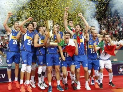 Volley, l'Italia risale il ranking mondiale! Azzurri quinti dopo il trionfo agli Europei