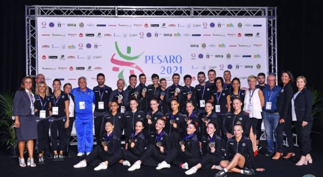 Ginnastica aerobica, l'Italia conquista sei medaglia agli Europei di Pesaro