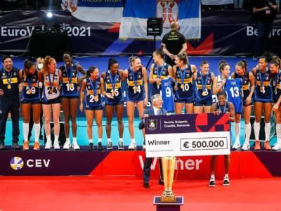 Volley, dove giocheranno le Campionesse d'Europa? Tutte le azzurre in Italia, Conegliano fa la voce grossa