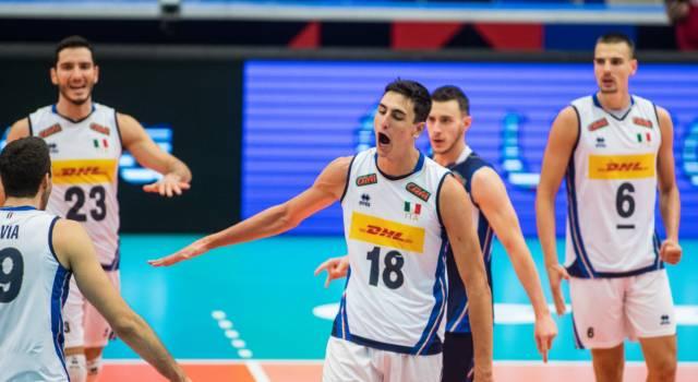 Italia-Germania oggi, Europei volley: orario, canale tv, programma in chiaro