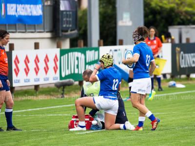 Rugby femminile, Qualificazioni Coppa del Mondo 2022: Italia-Irlanda 7-15. Si complica il cammino delle azzurre