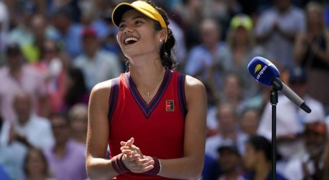 """US Open 2021, Emma Raducanu: """"Ho sempre sognato di vincere uno Slam. Voglio godermi questo momento"""""""