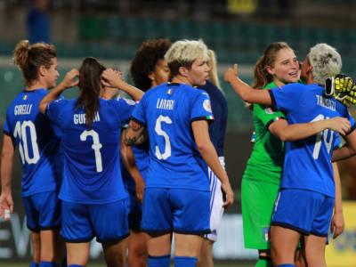 LIVE Italia-Croazia 3-0 calcio femminile in DIRETTA: terza vittoria su tre per le azzurre nel girone di qualificazione ai Mondiali. Pagelle e highlights