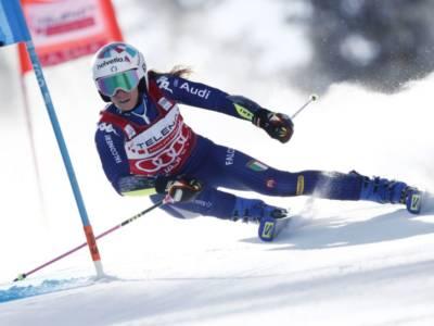 LIVE Sci alpino, Gigante Soelden in DIRETTA: Mikaela Shiffrin fa 70, a 0.14 Gut-Behrami. Italia disastrosa