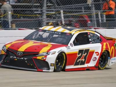 NASCAR, Talladega: Bubba Wallace vince sotto la pioggia