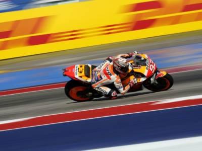 MotoGP, Marc Marquez svetta anche sull'asciutto in FP2 ad Austin. 3° Quartararo, 6° Bagnaia
