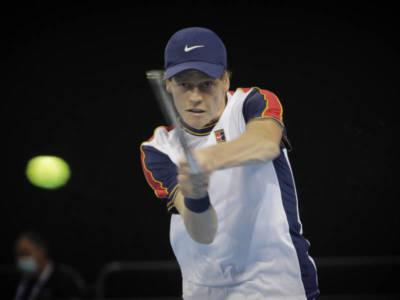 """Tennis, Jannik Sinner: """"Il mio miglior match della settimana. Spero in un bel finale di stagione"""""""