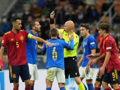 Italia-Spagna 1-2, pagelle Nations League: Chiesa l'ultimo ad arrendersi, anonimi Verratti e Insigne