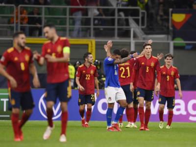 Calcio, Nations League 2021: Italia-Spagna 1-2. Torres decisivo, pesa il rosso a Bonucci