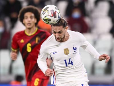 Calcio: Adrien Rabiot positivo al Covid-19, salterà la finale di Nations League 2021