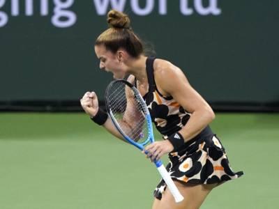 WTA Mosca 2021: Sakkari elimina Halep, Alexandrova estromette Sabalenka. Vondrousova-Kontaveit l'altra semifinale