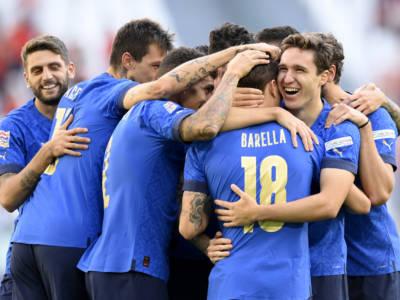 Calcio, Italia terza in Nations League: Belgio battuto 2-1, decidono Barella e Berardi