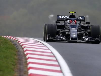 """F1, Pierre Gasly: """"Sono contento della gara fatta e di essere tornato nella Top6"""""""