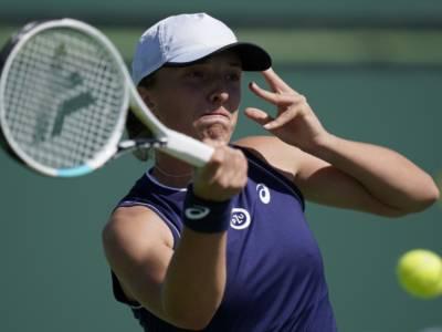 WTA Indian Wells 2021, ribaltoni agli ottavi: fuori Swiatek, Krejcikova e Svitolina