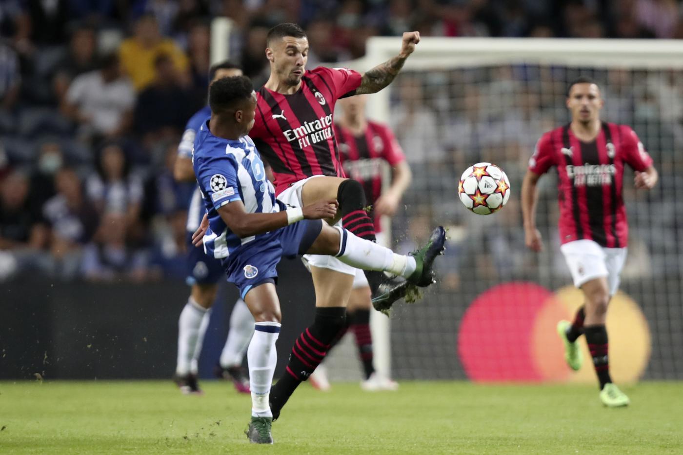 Terza sconfitta, il Milan cade in Portogallo